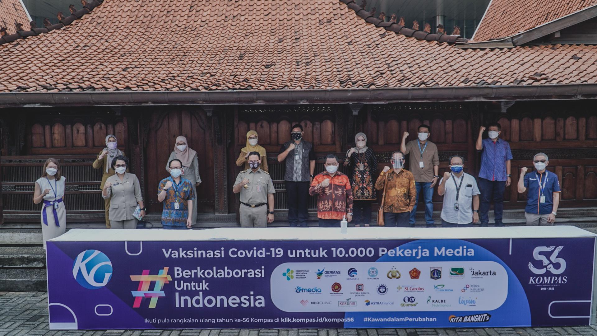 #BERKOLABORASIUNTUKINDONESIA: DYAN IKUT SERTA DALAM VAKSINASI COVID-19 UNTUK 10.000 PEKERJA MEDIA