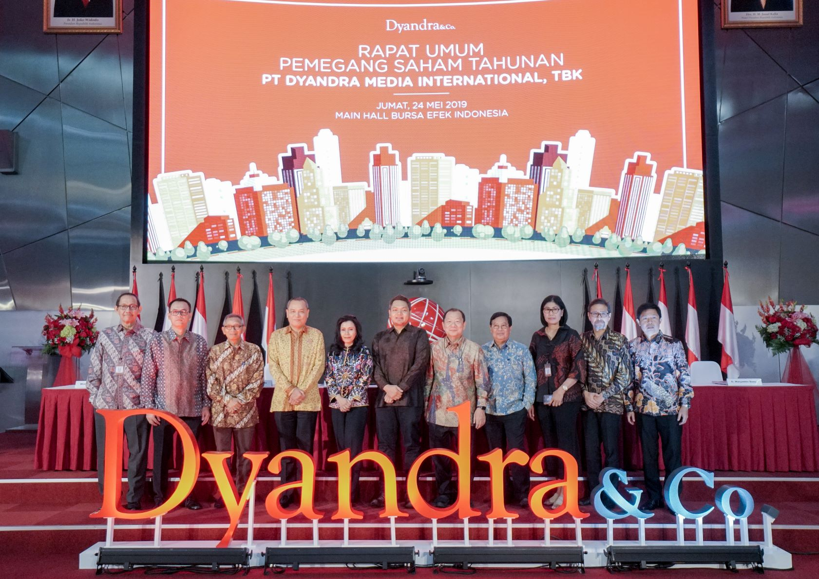 Dyandra Bagi Dividen Rp. 8,5 Miliar